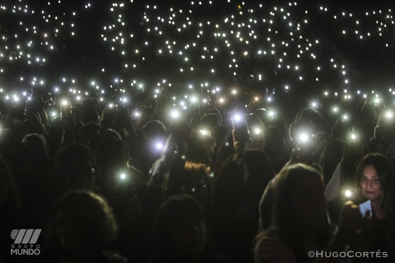 Imágen del concierto de la promotora Grupo Mundo